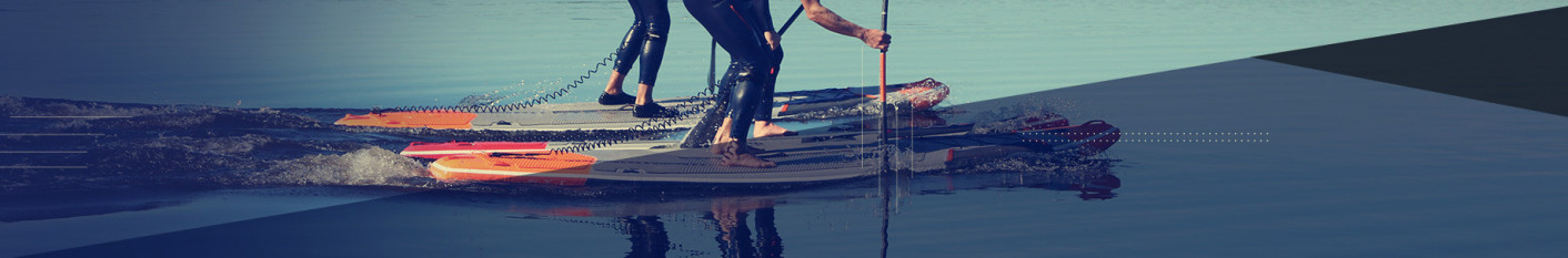 Stand-up paddle gonflable de vagues